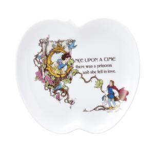 【ギフト包装対象商品】  ≪白雪姫≫ りんごのプレート(S)  ディズニーの映画の原点ともいえる「白...