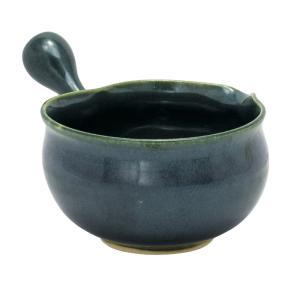 常滑焼 急須 9-224 淳蔵 織部横手 湯冷まし 280ml 美味しいお茶のひと工夫 日本製 箱入り T1607 kintouen