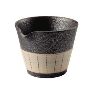 常滑焼 急須 1-211 徳太 炭化白中帯ルレット湯冷 240ml 美味しいお茶のひと工夫 日本製 箱入り T1918 kintouen