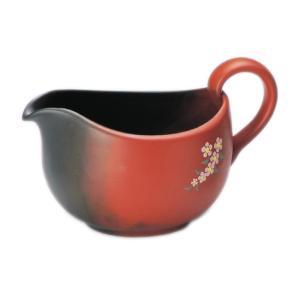 常滑焼 急須 3-687 玉光 窯変小花後手 湯冷まし 320ml 美味しいお茶のひと工夫 日本製 箱入り T345 kintouen