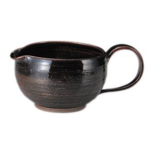 常滑焼 急須 3-692 勝旨 アメ釉糸目後手 湯冷まし 350ml 美味しいお茶のひと工夫 日本製 箱入り T349 kintouen