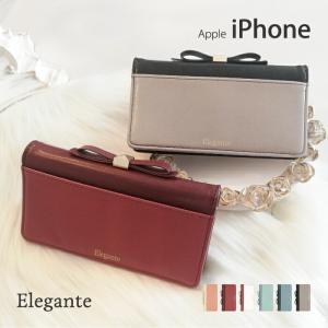 スマホケース 手帳型 iphone8 iPhone XR ケース アイフォン8 iphone7 iphone6s スマホカバー 携帯ケース おしゃれ リボン 鏡|kintsu
