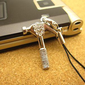 オシャレなミニチュア工具ストラップ/ハンマー スマートフォン アクセサリー 携帯 ストラップ|kintsu