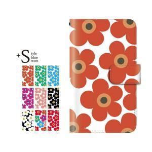 手帳型ケース iPod TOUCH 5 6 / フラワー f...