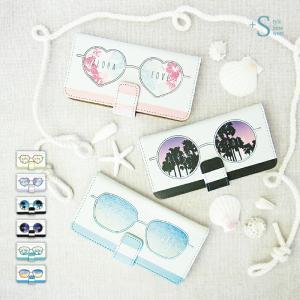 手帳型ケース iPod TOUCH 5 6 ケース /サング...