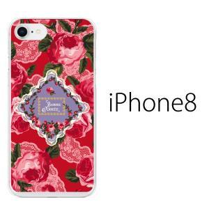 スマホケース アイフォン8プラス iphone8plus iphone8プラス 携帯ケース スマホカバー ローズフラワー 薔薇 BONNE ANNEF|kintsu