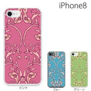 スマホケース アイフォン8プラス iphone8plus iphone8プラス 携帯ケース スマホカバー ペイズリー TYPE6|kintsu