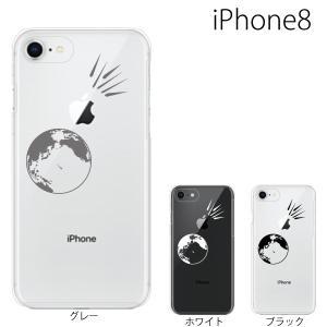 スマホケース アイフォン8プラス iphone8plus iphone8プラス 携帯ケース スマホカバー 隕石 meteorite|kintsu