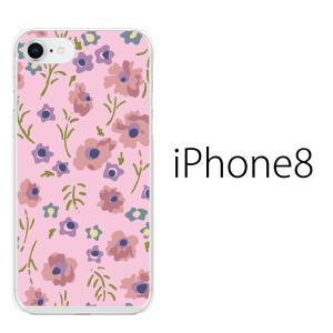 スマホケース アイフォン8プラス iphone8plus iphone8プラス 携帯ケース スマホカバー フルフラワー|kintsu