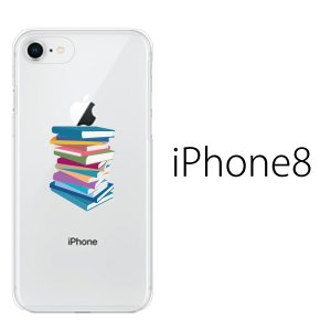 スマホケース アイフォン8プラス iphone8plus iphone8プラス 携帯ケース スマホカバー The Book 本 書籍積み kintsu