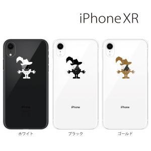スマホケース iphone xr ケース スマホカバー 携帯ケース アイフォンxr ハード カバー リンゴ銃士|kintsu