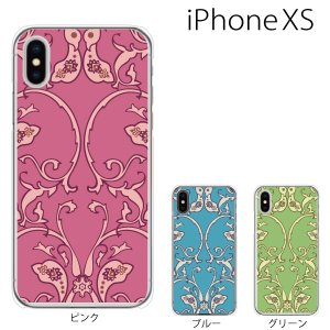 スマホケース iphonexs ケース スマホカバー 携帯ケース アイフォンxs ハード カバー ペイズリー TYPE6|kintsu