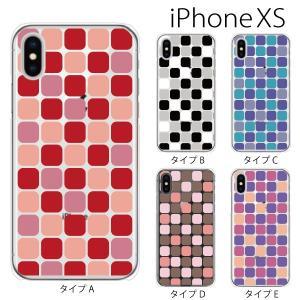 スマホケース iphonexs ケース スマホカバー 携帯ケース アイフォンxs ハード カバー NISHIKIGOI タイル柄|kintsu