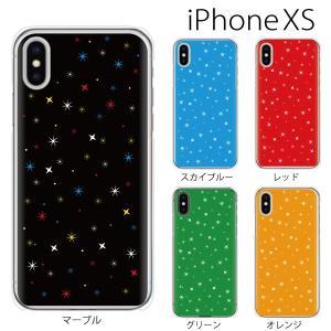 スマホケース iphonexs スマホカバー 携帯ケース アイフォンxs TPU素材 カバー Night sky 夜空 マルチ|kintsu