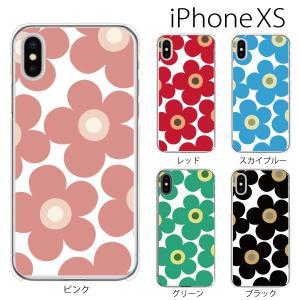 スマホケース iphonexs ケース スマホカバー 携帯ケース アイフォンxs ハード カバー フラワー|kintsu