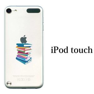 iPod TOUCH 5 6 ケース カバー / The Book 本 書籍積み / (ipodタッチ iPod touchカバー ipodtouch5カバー ケース)