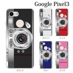 スマホケース ハードケース google pixel 3 クリアケース ケース スマホカバー おしゃれ カバー カメラ CAMERA|kintsu