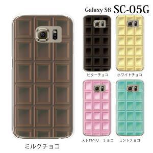 ■対応機種 docomo ドコモの Galaxy S6 SC-05G 専用のクリアカバー ハード ケ...