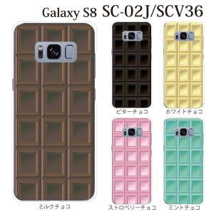 ■対応機種 docomo ドコモの Galaxy S8 SC-02J 専用のクリアカバー ハード ケ...