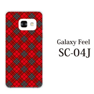 スマホケース Galaxy Feel SC-04J ケース カバー スマホケース スマホカバー タータンチェック|kintsu