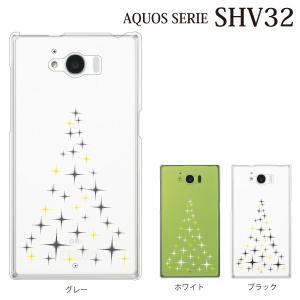 AQUOS SERIE SHV32 ケース シャイニングツリー Tree|kintsu