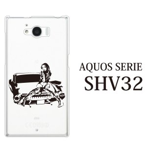 AQUOS SERIE SHV32 ケース カバー アクオス...