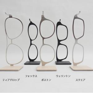 meganeHanger Glasses <メガネハンガー グラシーズ> ウェリントン黒/黒|kinzokuoh