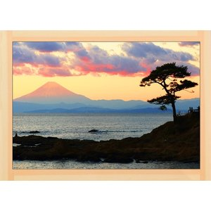 富士山  Mt FUJI   世界遺産    0061  A2 size