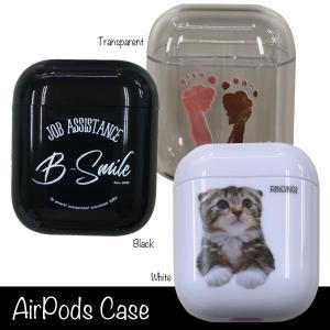 AirPods AirPodsケース デザインオーダー お子様の絵 チームのロゴ ペットの写真 オリ...