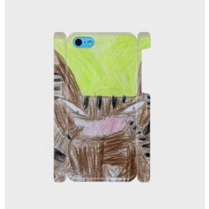 iPhone5C スマホケース オーダーメイド 背面ケース 側表面印刷 子供の絵 チームロゴ ペット 写真 オリジナルデザイン|kira-bsmile