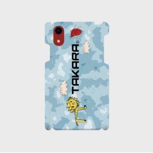iPhoneXR スマホケース オーダーメイド 背面ケース 側表面印刷 子供の絵 チームロゴ ペット 写真 オリジナルデザイン|kira-bsmile