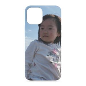 iPhone12ProMax スマホケース オーダーメイド 背面ケース 表面印刷 子供の絵 チームロゴ ペット 写真 オリジナルデザイン|kira-bsmile
