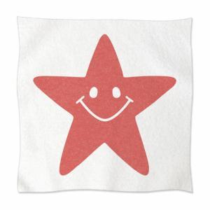 ソフトタッチ ミニタオル オーダーメイド 子供の絵 チームロゴ 手足型 ペット 写真 オリジナルデザイン kira-bsmile