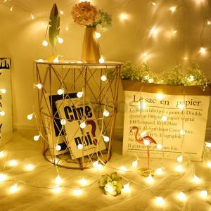 クリスマス LED ソーラーライト 10球 20秋 30球 ソーラー LEDライト クリスマスツリー...