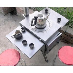大人気野外薪ストーブ携帯ピクニック装備キャンプ用品多机能無煙折畳かまどの野たきストーブ野外