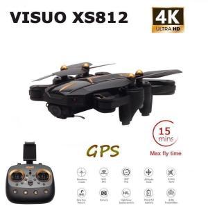 ★最高画質グレード★VISUO XS812 GPS RC ドローン 4 18K HD カメラ 5G ...