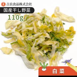 【熊本産】干し野菜(乾燥野菜)白菜 110gの商品画像
