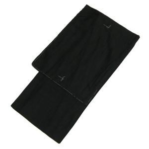 洗える着物 絽 色無地 ブラック 4Lサイズ 紳士 メンズ 男性 夏着物 絽着物|kirakukai