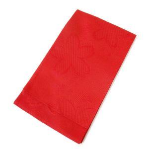 訳あり 浴衣帯 大きな桜(赤) アウトレット OUTLET 半帯 半巾帯 浴衣 帯 単衣帯 ゆかた レディース kirakukai