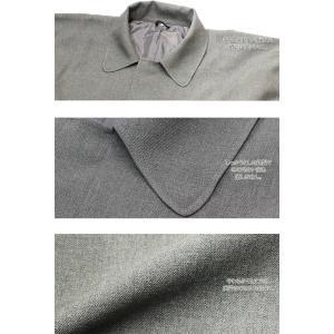 紳士 角袖 コート グレー 《15KS-2》 男性 メンズ 着物コート 和装 男物|kirakukai|04