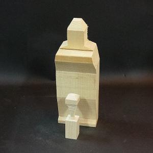 聖観音立像・6寸【木取り済】蓮華付き!角材の余計な部分を削りとってあるので、らくらく彫れる!仏像彫刻|kirakuya-yshop