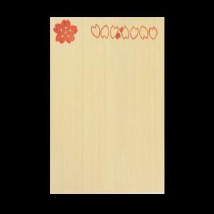 木曽桧製はがき【タイプ 2】木のぬくもりポストカード!あなたの思いを木のはがきで伝えてみませんか?手ハガキ,絵葉書,手作り|kirakuya-yshop
