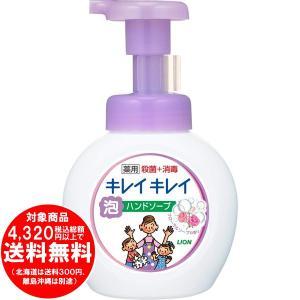 ライオン キレイキレイ 薬用 泡ハンドソープ フローラルソープの香り 本体 250ml [free]|kirakuya