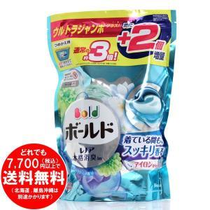 P&G ボールドジェルボール3D 爽やかプレミアムクリーン ウルトラジャンボサイズ 54個 [fre...