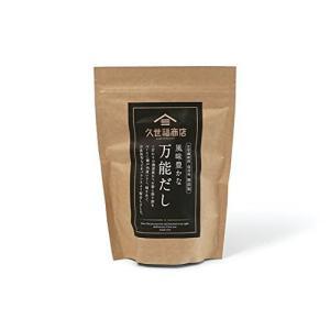 久世福商店 風味豊かな万能だし 8g×25袋 kirameki-syooten