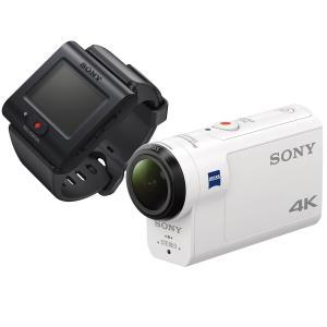 ソニー SONY ウエアラブルカメラ アクションカム 4K+空間光学ブレ補正搭載モデル(FDR-X3000R) ライブビューリモコンキット|kirameki-syooten