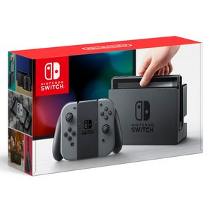 Nintendo Switch 本体 (ニンテンドースイッチ) 【Joy-Con (L) / (R) グレー】|kirameki-syooten