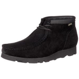 [クラークス] 本革 ブーツ ゴアテックス 防水 ワラビーブーツ GTX(定番) メンズ ブラックスエード UK085 kirameki-syooten