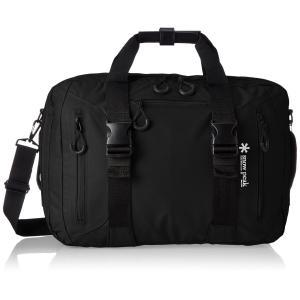 [スノーピーク] ビジネスバッグ 3wayビジネスバッグ A4収納 3WAY ハンドバッグ ショルダーバッグ バックパック UG-729BK ブラック kirameki-syooten