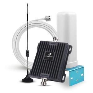 PHONETONE 電話信号増幅器 携帯電話信号ブースター 3G W-CDMA / 4G FDD-LTE 800/2100 MHz 65dB フルセッ au SoftBank NTT Docomo Band 1 Band 19 ユーザーに適用|kirameki-syooten